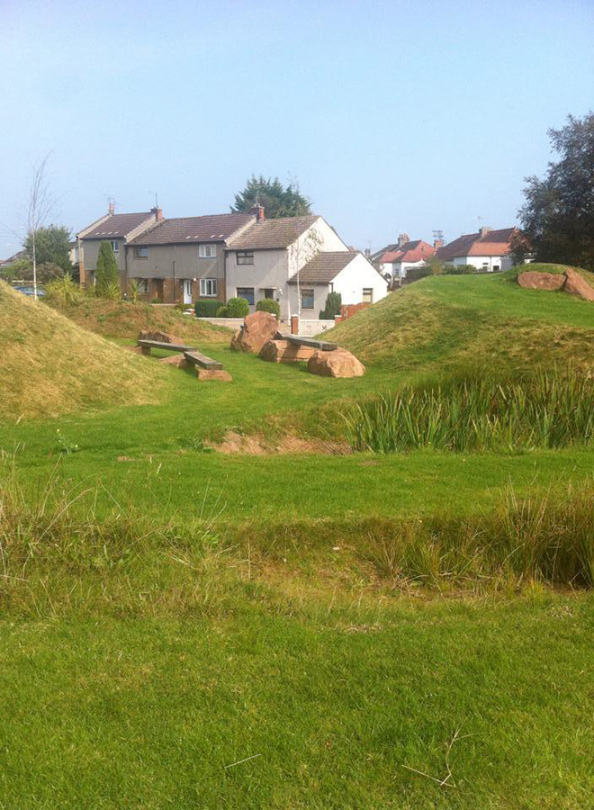 Jamieson & Gordon, Amazon Earthwork, Dumfries