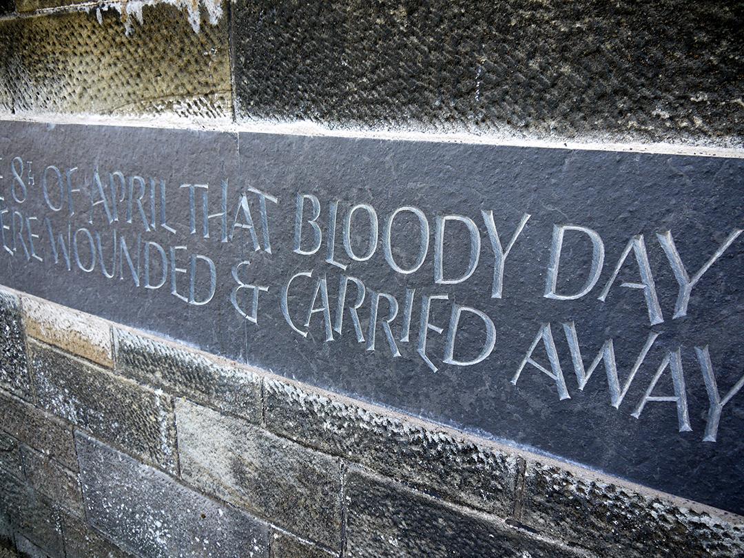 Jamieson & Gordon, Bank Street Memorial