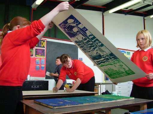 Print making – out and about