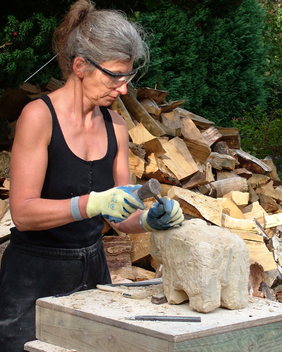 Jamieson and Gordon, Stone carving workshop