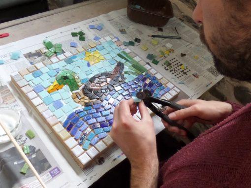 Mosaics – home studio