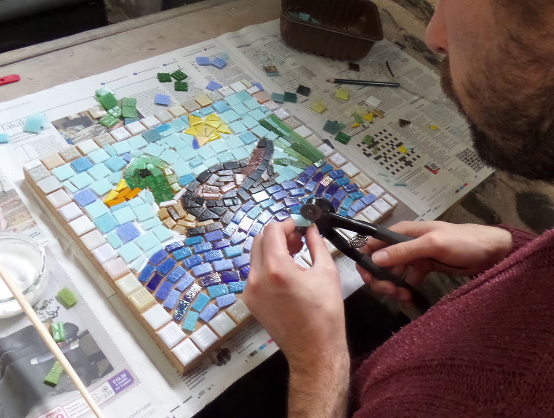 Mosaic making workshop