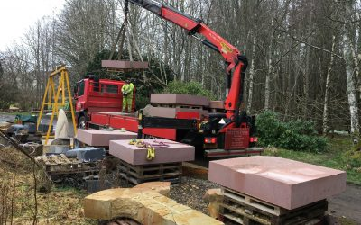 Doddington Sandstone Delivery